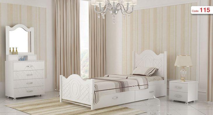 تخت خواب یک نفره مدل آرامش