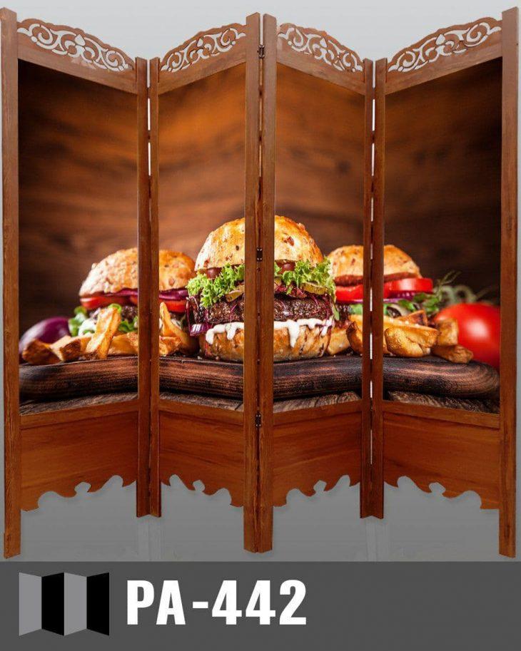 پاراوان تصویری رستورانی PA-442